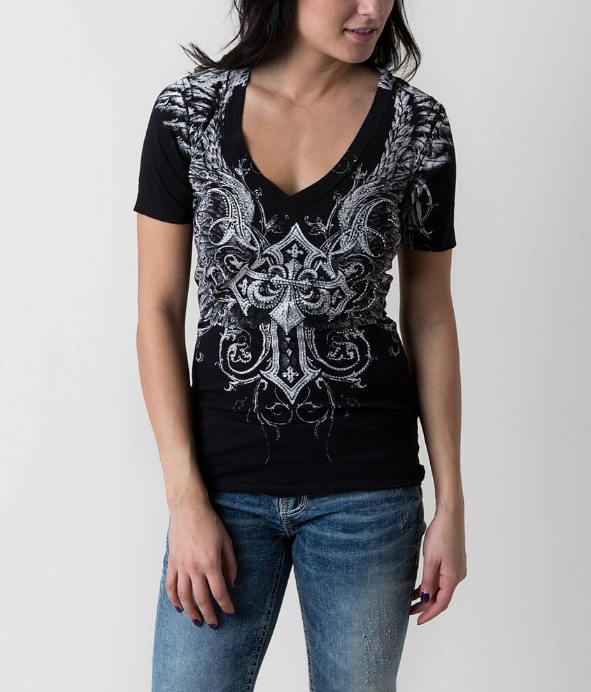 Affliction Debonair T-Shirt front view