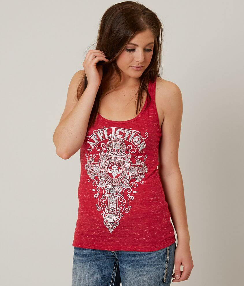 Affliction Marquis Tank Top front view