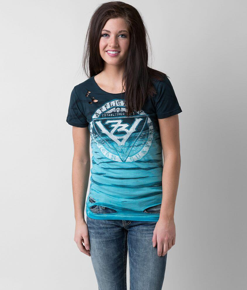 Affliction Vintage T-Shirt front view