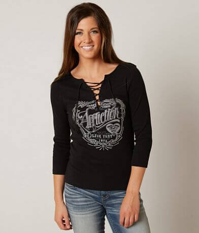 Affliction American Customs Betrothed Top