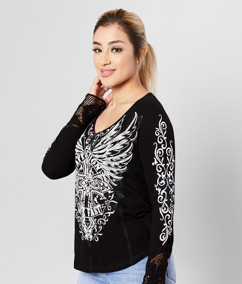 Affliction Edenberry Thermal front view