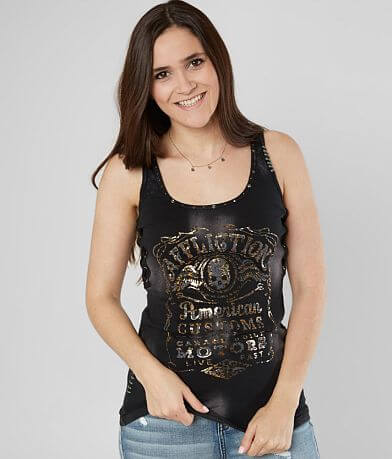 Affliction Fine Aged Tank Top