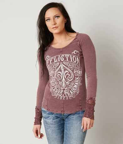 Affliction Tattered Soul Thermal Top
