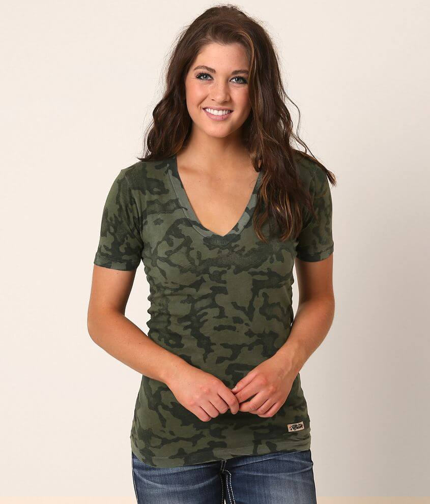Standard Supply Series Camo T-Shirt front view