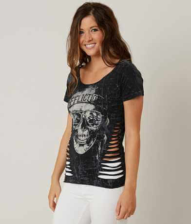 Affliction American Customs Into The Sunset Top