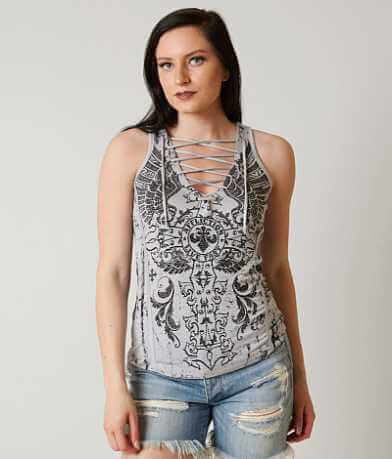 Affliction Battle Zone Tank Top