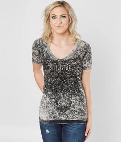 Affliction Indulgence V-Neck T-Shirt