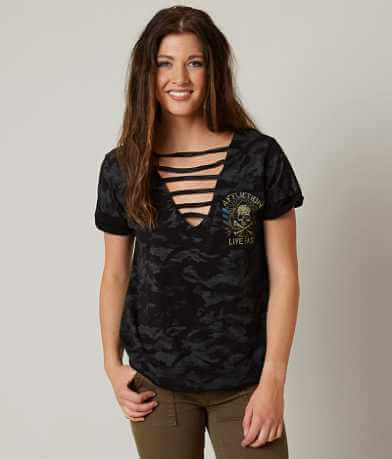 Affliction Black Ace T-Shirt