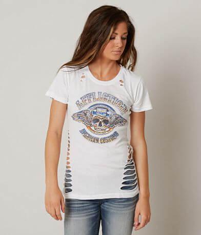 Affliction American Customs Brass Knuckles T-Shirt