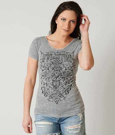 Affliction Spiker Impact Reversible T-Shirt