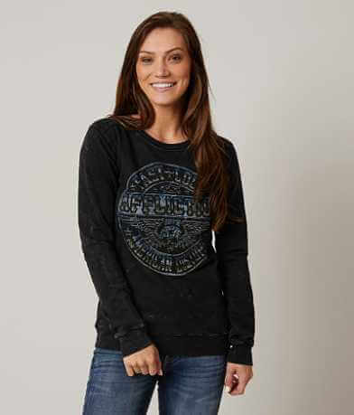 Affliction American Customs Volume Sweatshirt