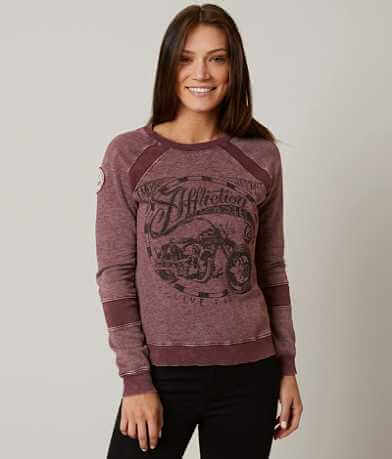 Affliction American Customs Biker Sweatshirt