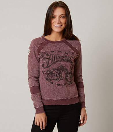 Affliction American Customs Biker Sweatshirt