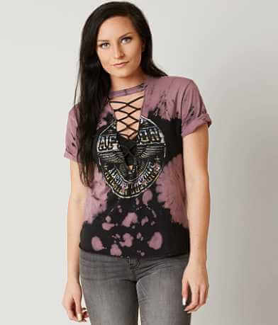 Affliction American Customs Volume Chrome T-Shirt