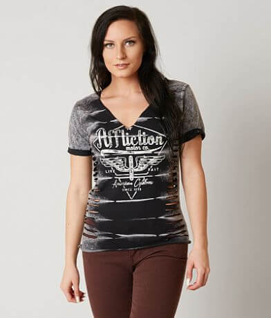 Affliction American Customs Motor 73 T-Shirt