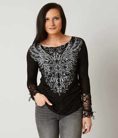 Affliction Edenberry Top