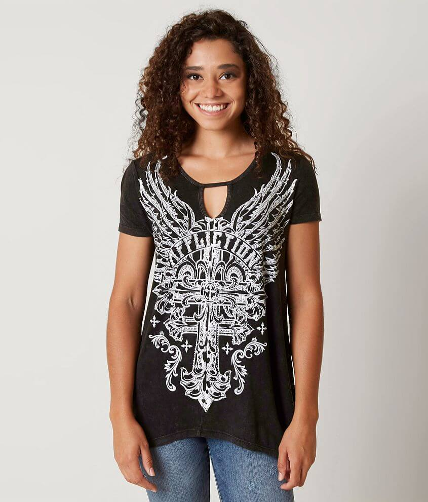 Affliction Enlightenment T-Shirt front view