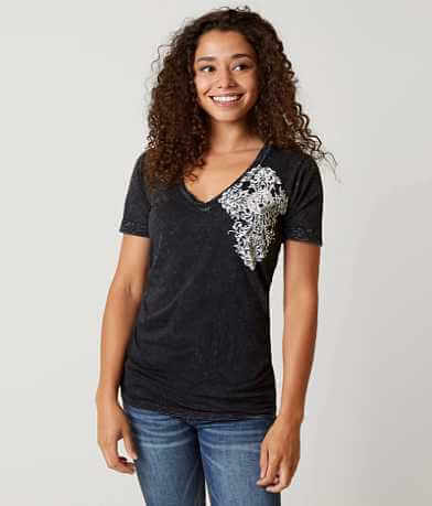 Affliction Precious Metal Reversible T-Shirt