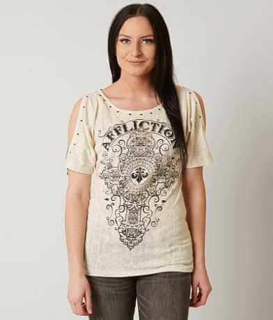 Affliction Marquis Cold Shoulder T-Shirt