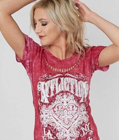 Affliction Ink Wash T-Shirt