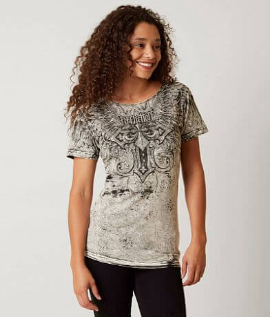 Affliction American Customs Debonesque T-Shirt