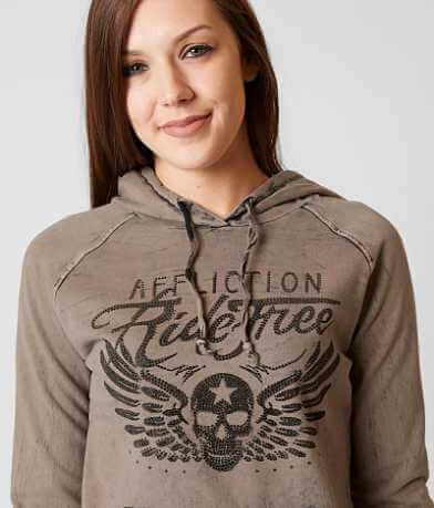 Affliction American Customs Ride Free Sweatshirt