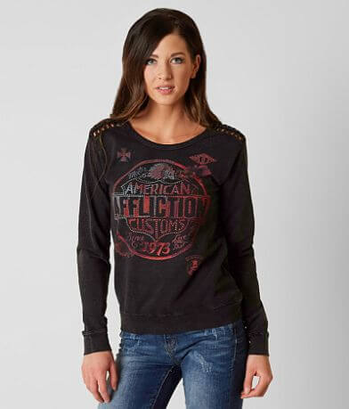 Affliction American Customs Motor Club Sweatshirt