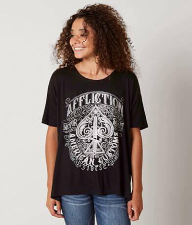 Affliction Death Spade T-Shirt