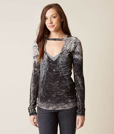Affliction Age of Winter Reversible T-Shirt