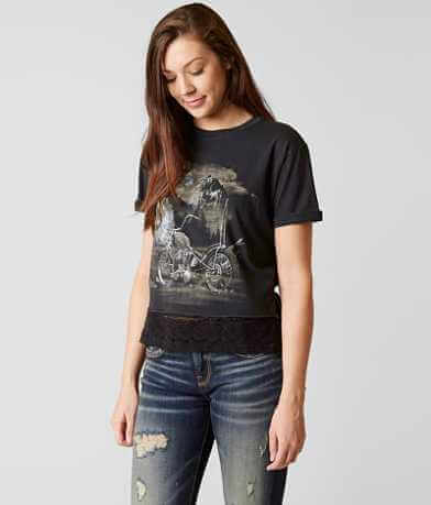 Affliction American Customs Wolf Chop T-Shirt