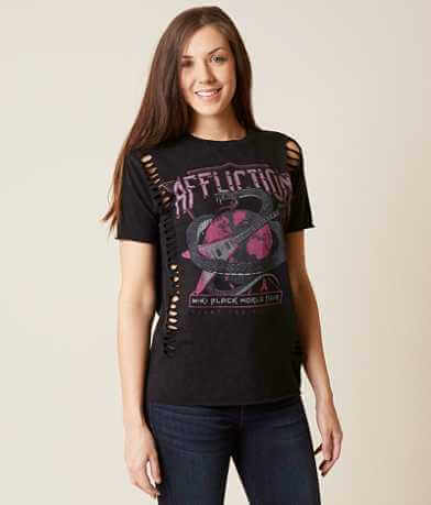 Affliction Miki Black T-Shirt