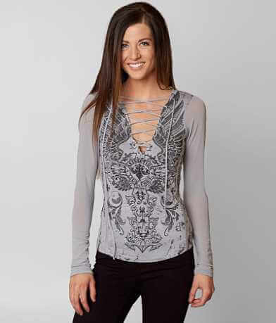 Affliction Battle Zone Top