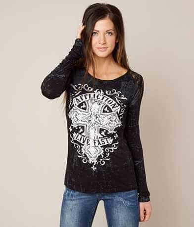 Affliction Saint Edith T-Shirt