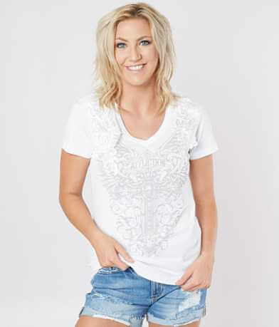 Affliction Lorelei V-Neck Top