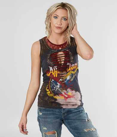 Affliction Where Eagles Dare Tank Top