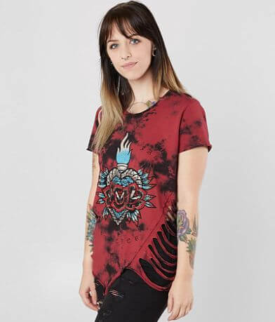Affliction Sacred Rose T-Shirt