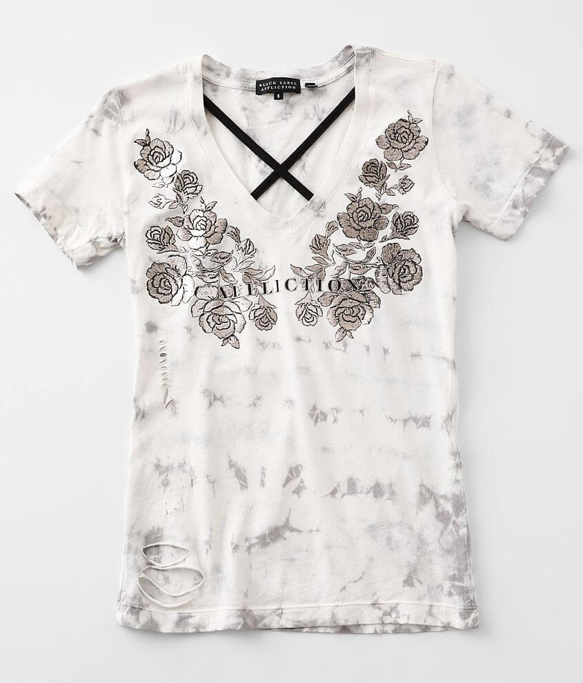 Affliction Love & Roses T-Shirt front view