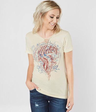 Affliction City Of Roses T-Shirt