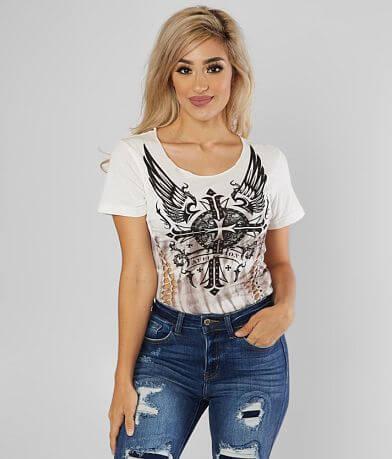 Affliction Margo Love T-Shirt
