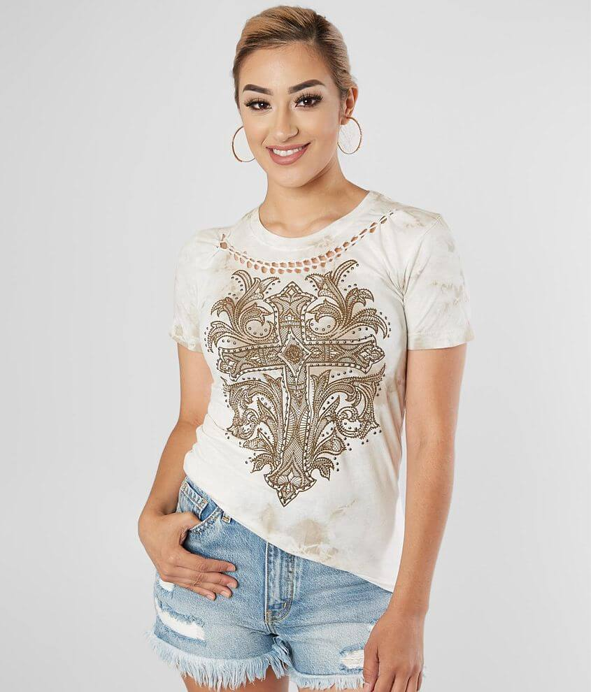 Affliction Cadence Baby T-Shirt front view