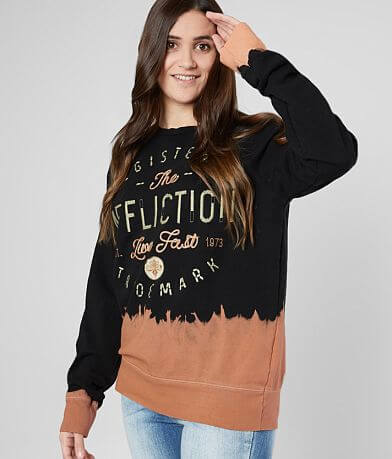 Affliction Live Fast Stitch Sweatshirt