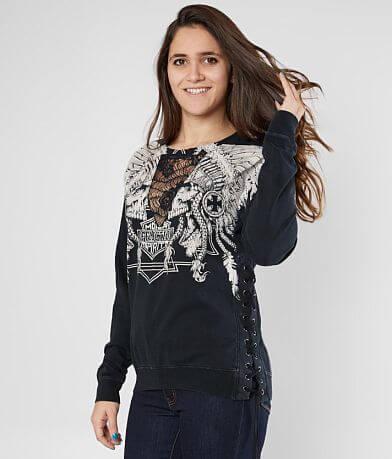 Affliction Skull Crusher Sweatshirt