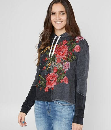 Affliction Hysteria Split Hooded Sweatshirt