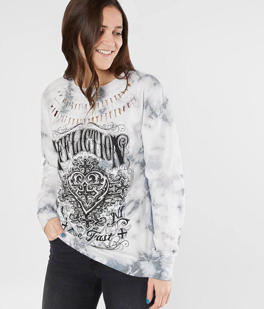 Affliction Ink Sweatshirt front view