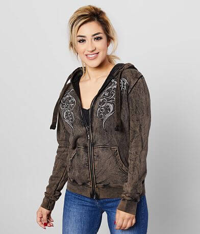 Affliction Lovington Hooded Sweatshirt
