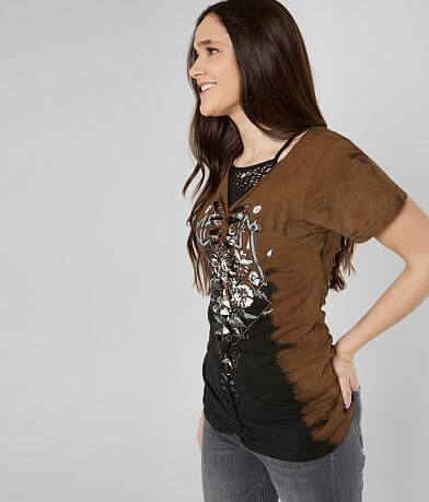 Affliction Wildflower Daze T-Shirt