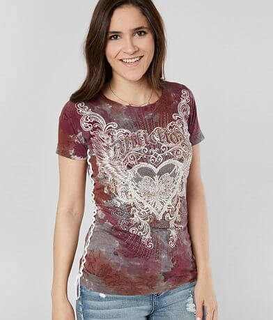 Affliction Clemence Top