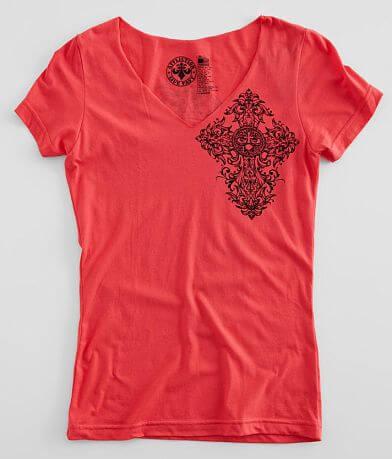 Affliction Memoir V-Neck T-Shirt
