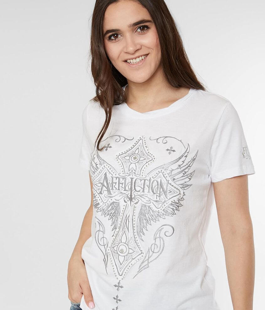 Affliction Tomorrowland T-Shirt front view