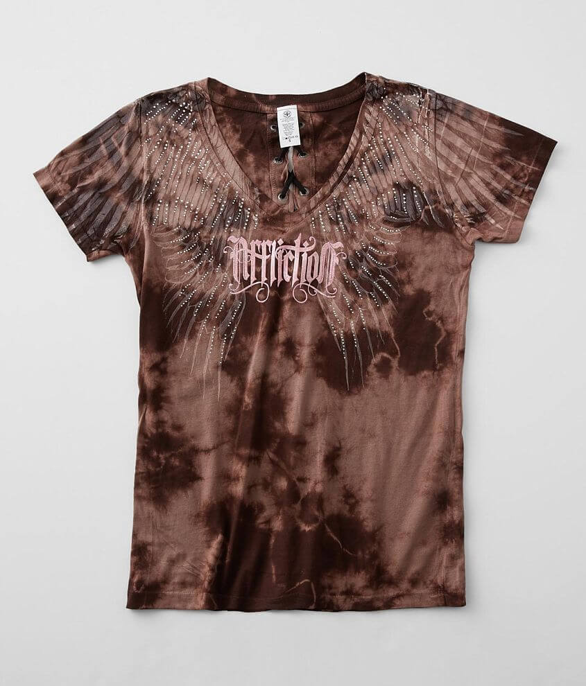 Affliction Winter Warrior T-Shirt front view
